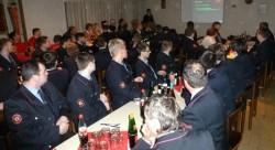 Kommandant Rainer Stecker leitete die Veranstaltung